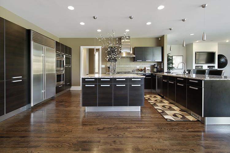 Divided Modern Luxury Kitchen