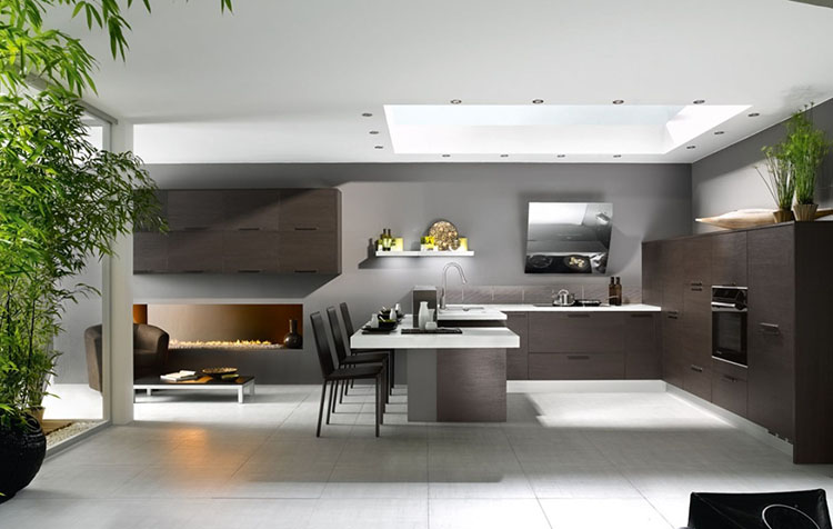 minimalist luxury kitchen design