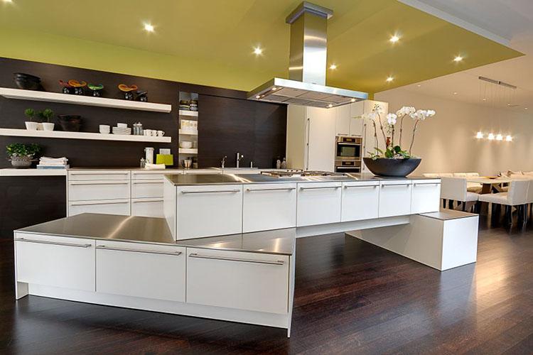 Modern Luxury Kitchen with unique island