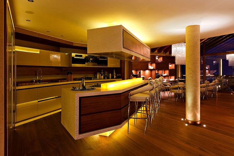 Restaurant inpired Modern Luxury Kitchen