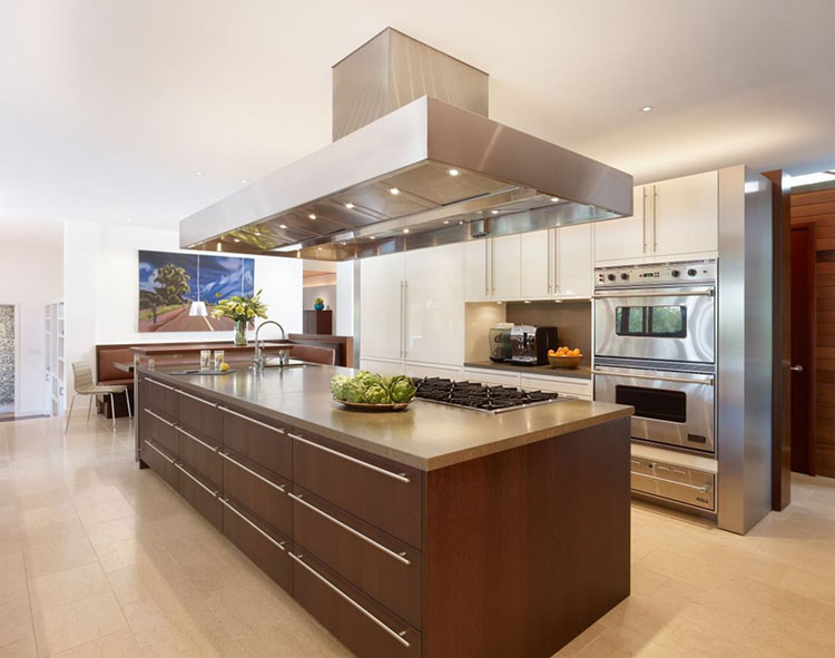 Modern Luxury Kitchen with spacious storage area