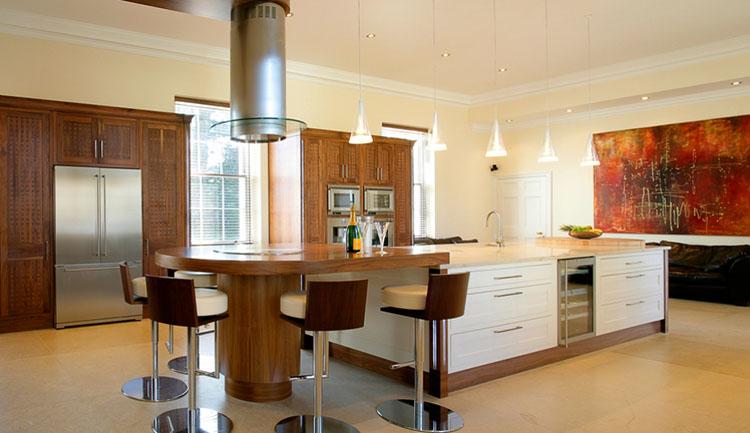 Modern Luxury Kitchen with smart design