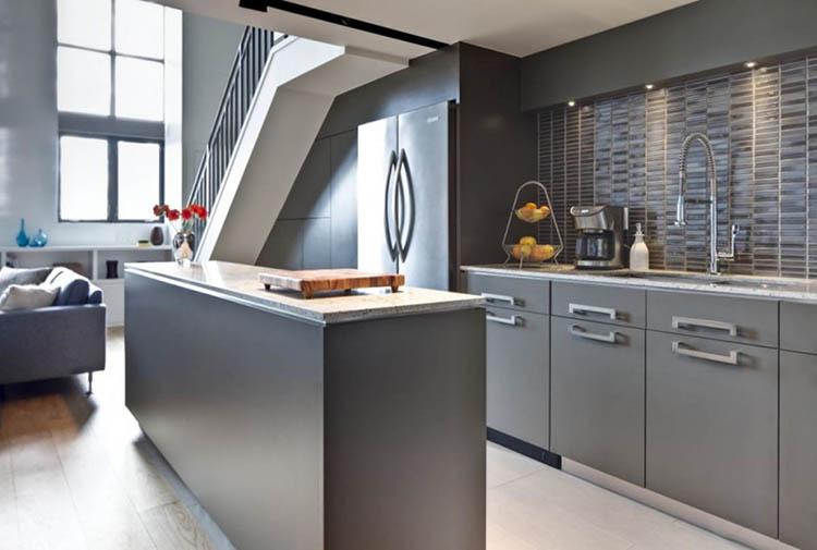 Compact Modern Luxury Kitchen