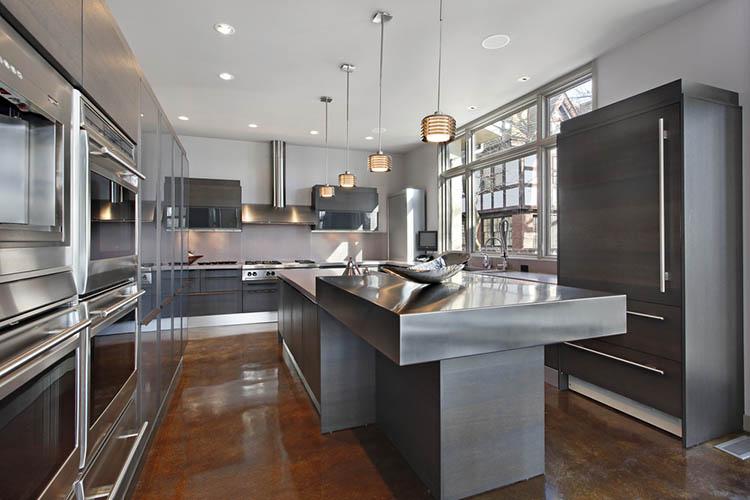 Stainless Modern Luxury Kitchen