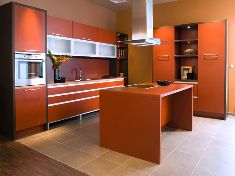 Ginger Peach Luxury Kitchen