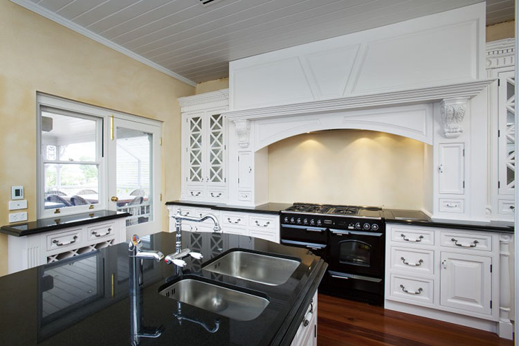 Luxury Kitchen with dual sink island