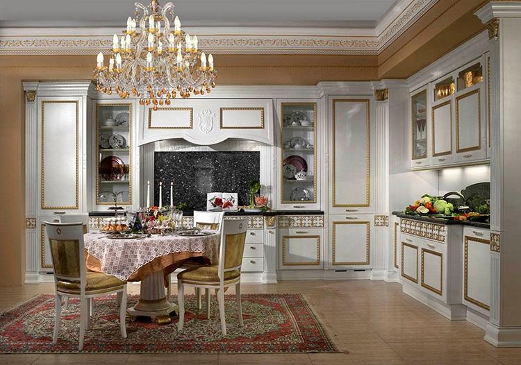 White Luxury Kitchen398