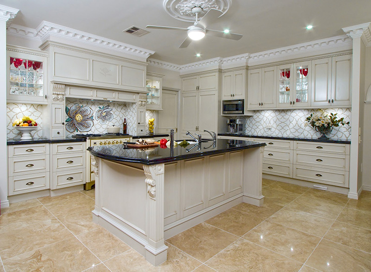 Classically designed Luxury Kitchen