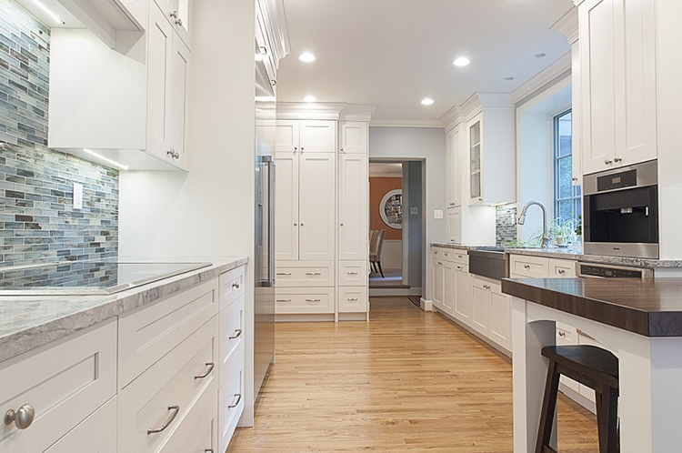 Narrow Luxury Kitchen