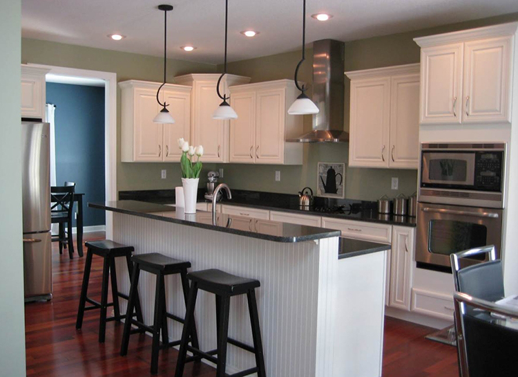 Practical Layout Luxury Kitchen