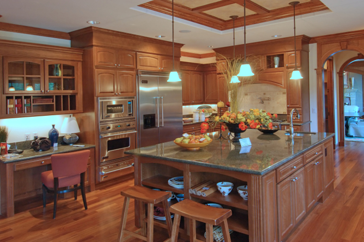 oak Luxury Kitchen