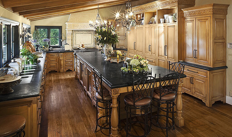classical luxury kitchen