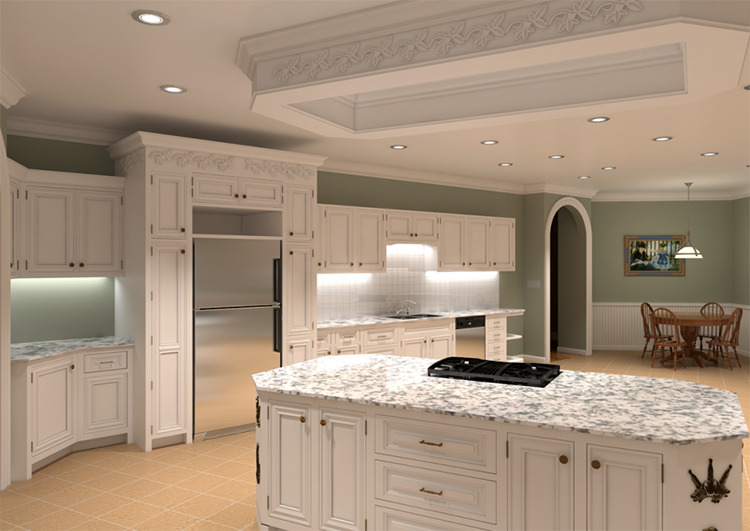 kitchen lighting ideas - recessed lighting