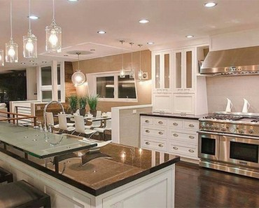Luxuy Kitchen Lighting 1