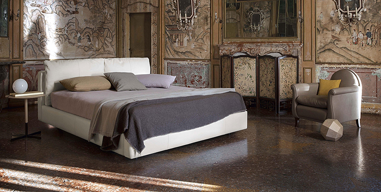 luxury bed gallery - Poltrona Frau_massimosistema_bed