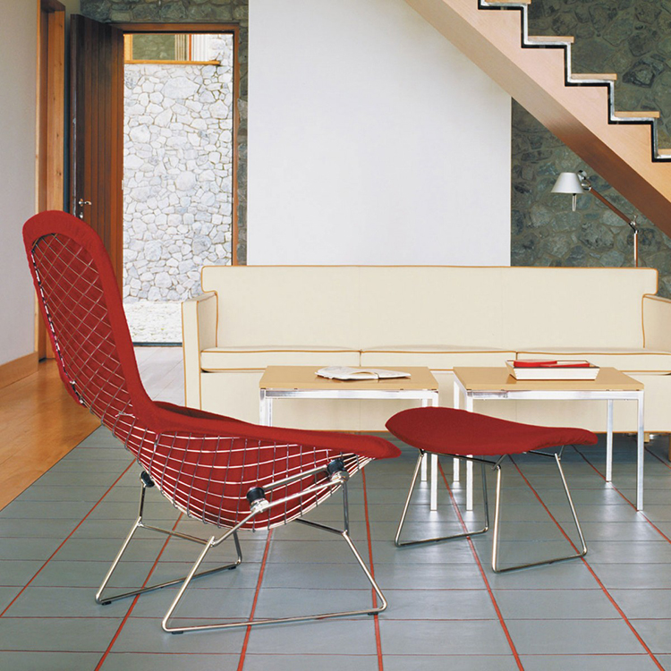 03-luxury chairs gallery - Harry Bertoia's Diamond Launge Chair