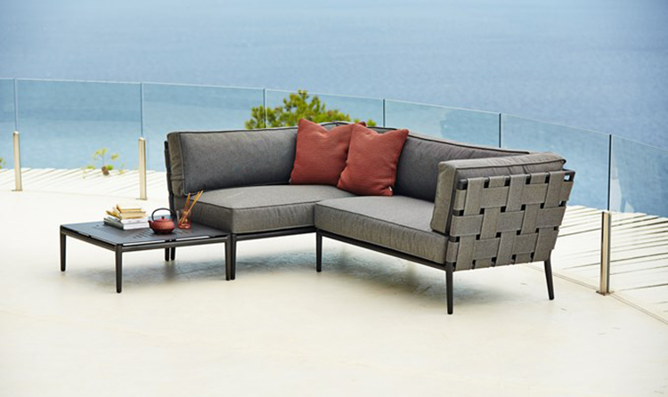 Conic 2 seater sofa