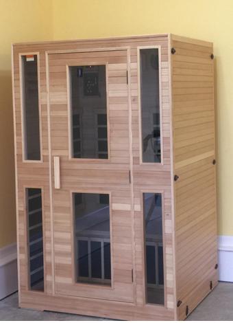JNH Lifestyles Assembled Sauna