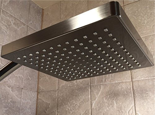 Vida Alegría Spashower RAIN 8-Inch Square Soft Rain 2.5 GPM Shower Head
