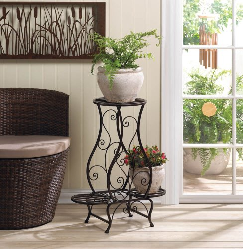 Multi Tiered Iron Indoor Plant Stands