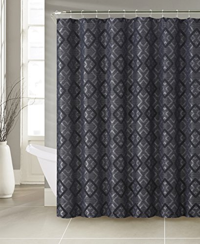 If You Like A Darker Style Of Shower Curtain Than We Would Recommend This From Lucas Jacquard Is Also Polyester That Hangs