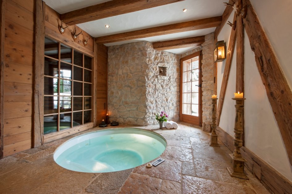 If You Are Into The More Rustic Look Then This Small, In Floor Hot Tub Will  Be A Great Choice. We Are Drawn To The Simple Circular Design. Part 95