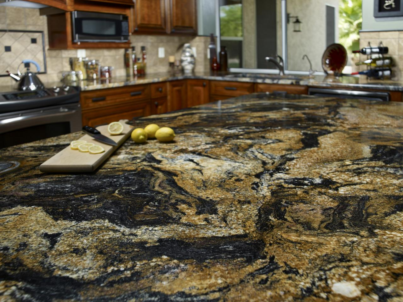 Top 5 Unique And Bold Granite Counter Top Designs