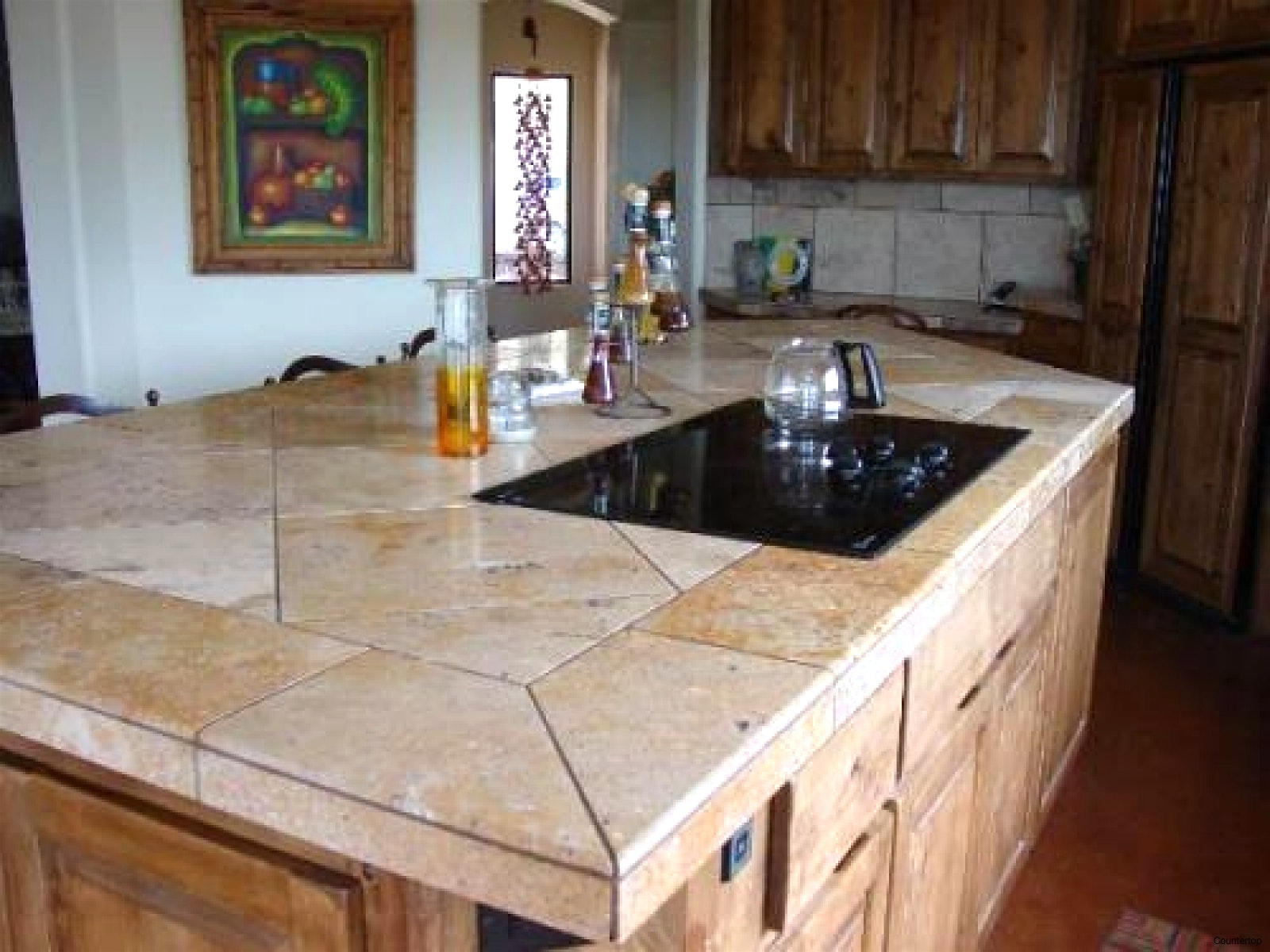 ... A Counter Top, But We Like The Look Of The Granite And The Perfectly  Straight Grout Lines. Perhaps It Is Something To Consideru2026 This Is A Great  ...