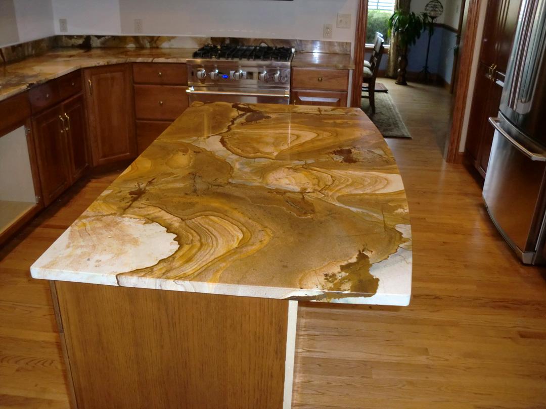 interesting kitchen granite countertops | Top 5 Unique and Bold Granite Counter Top Designs ...