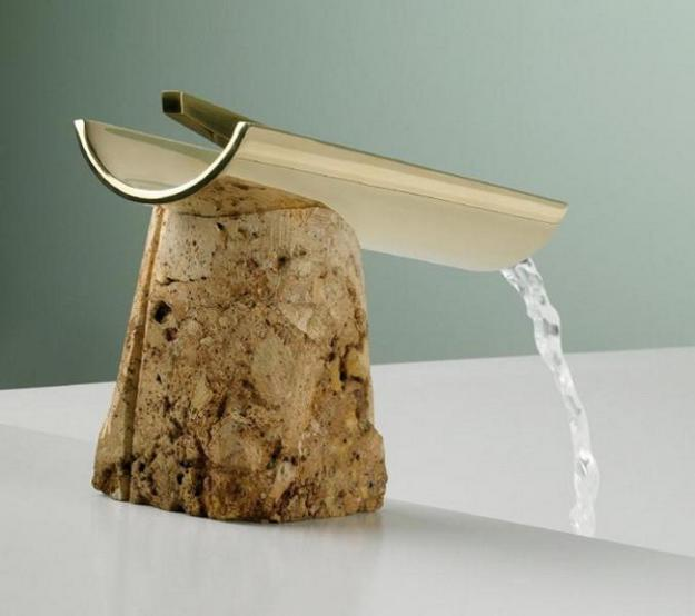 The Rock and Trough Faucet